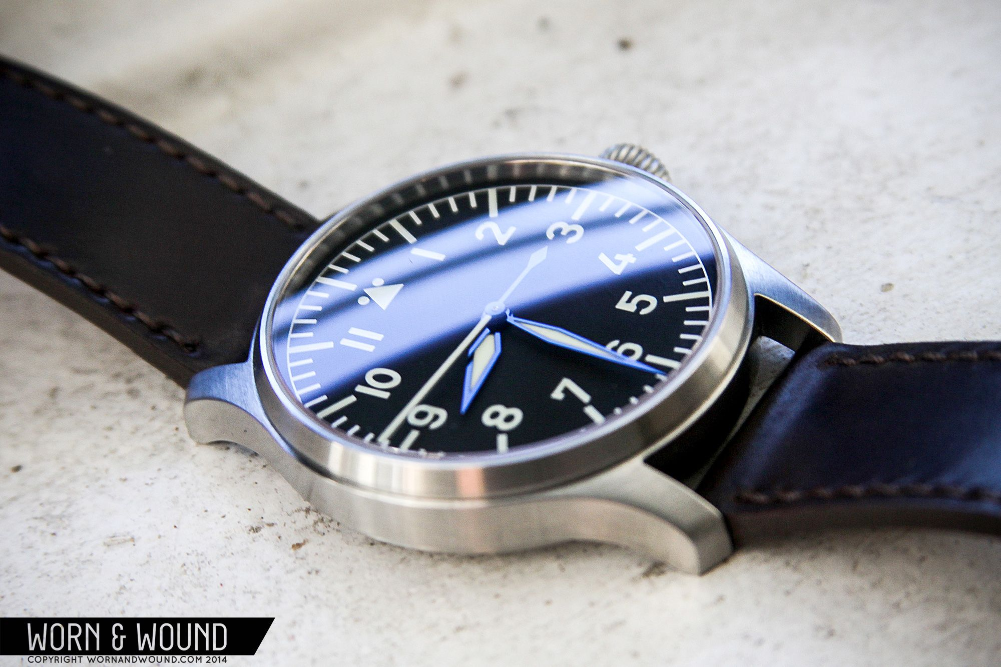 watches worn stowa prodiver pro schauer review seatime lume wound watch