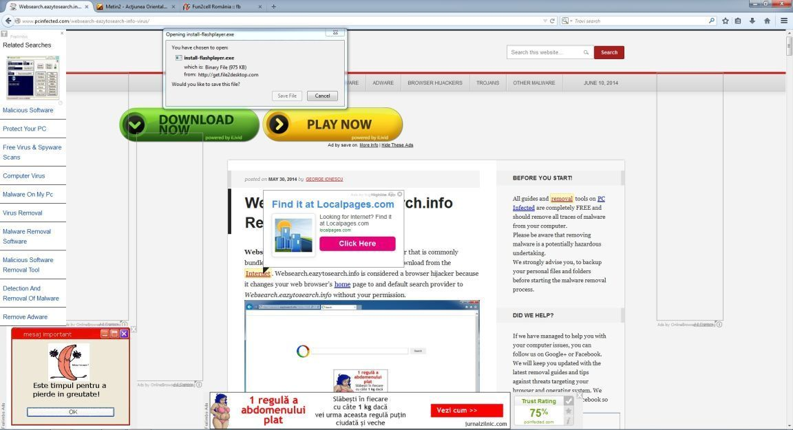 How to remove ads by all day savings uninstall guide