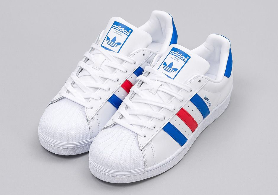 adidas superstar colorful stripes
