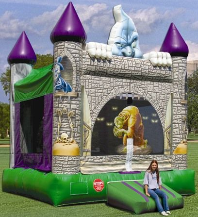 scary bounce house rental in san diego