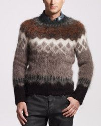 e807d2db40 Dsquared² Mohair-blend Sweater in Brown for Men (brown multi)