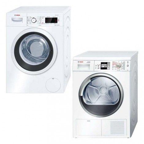 Front Load Washing Machine and Condenser Dryer