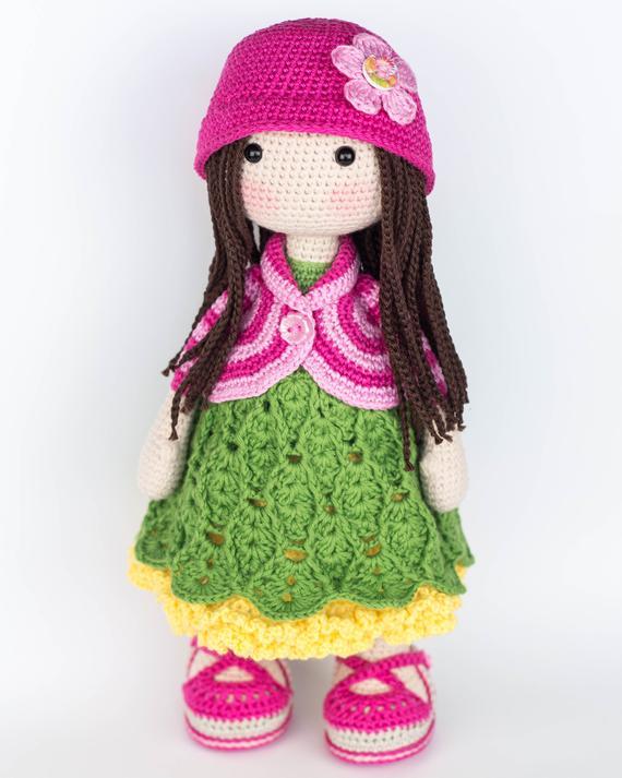 Part 2: Amigurumi Emma Bebek Yapılışı ( Free Crochet Pattern) Eng ... | 713x570
