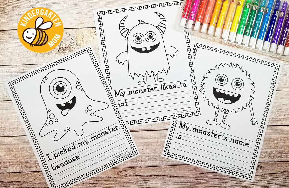 Free Monster Writing Prompts These Silly Monsters Need