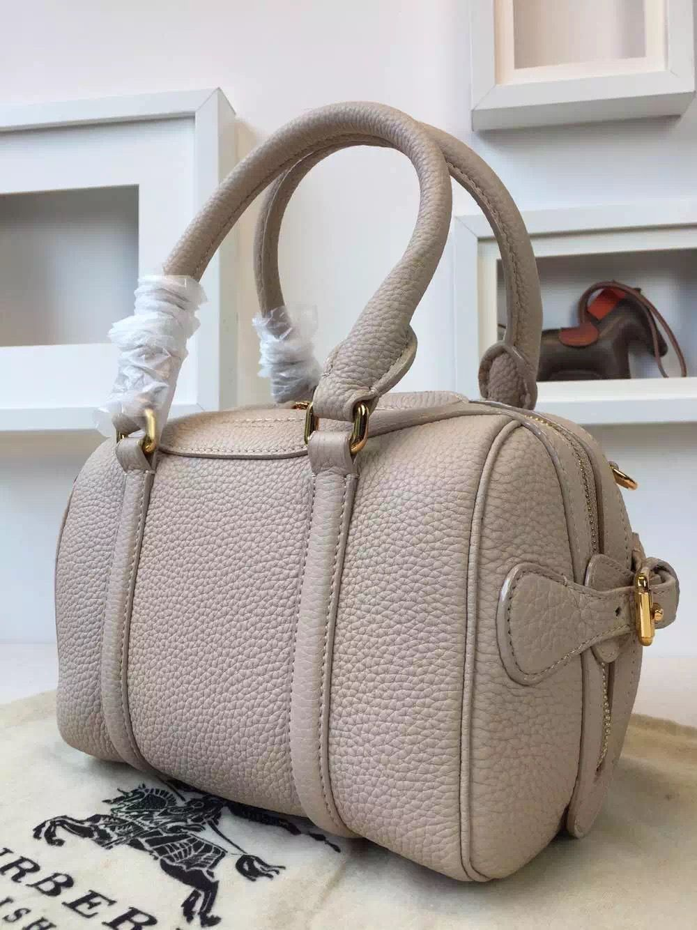 Burberry 39733391 The Mini Bee In Grainy Off-White Leather 2015 ... bb6e0d05f76dd
