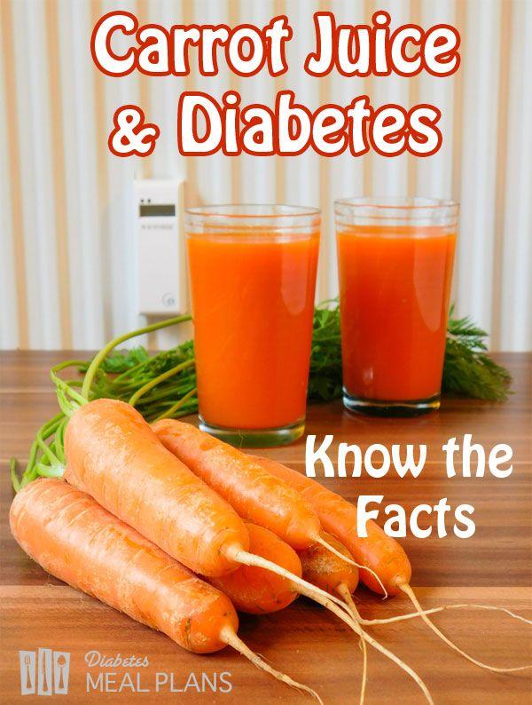 diabetes zumo de zanahoria