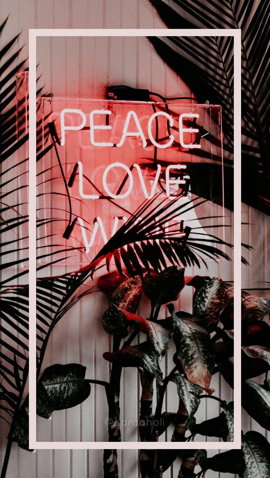 Aesthetic Collage Wallpaper Neon Aesthetic