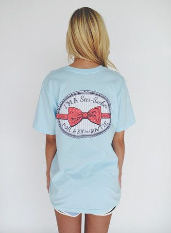 I'm a seer-sucker for a boy in a bowtie. --Lauren James Clothing Co.