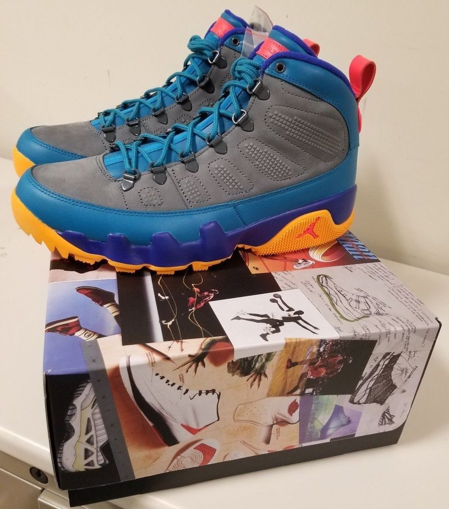 a772ec789b6 Air Jordan 9 Retro Boot NRG 2018 Green Abyss Size 9.5 100%  Authentic/Deadstock #fashion #clothing #shoes #accessories #mensshoes  #athleticshoes (ebay link)