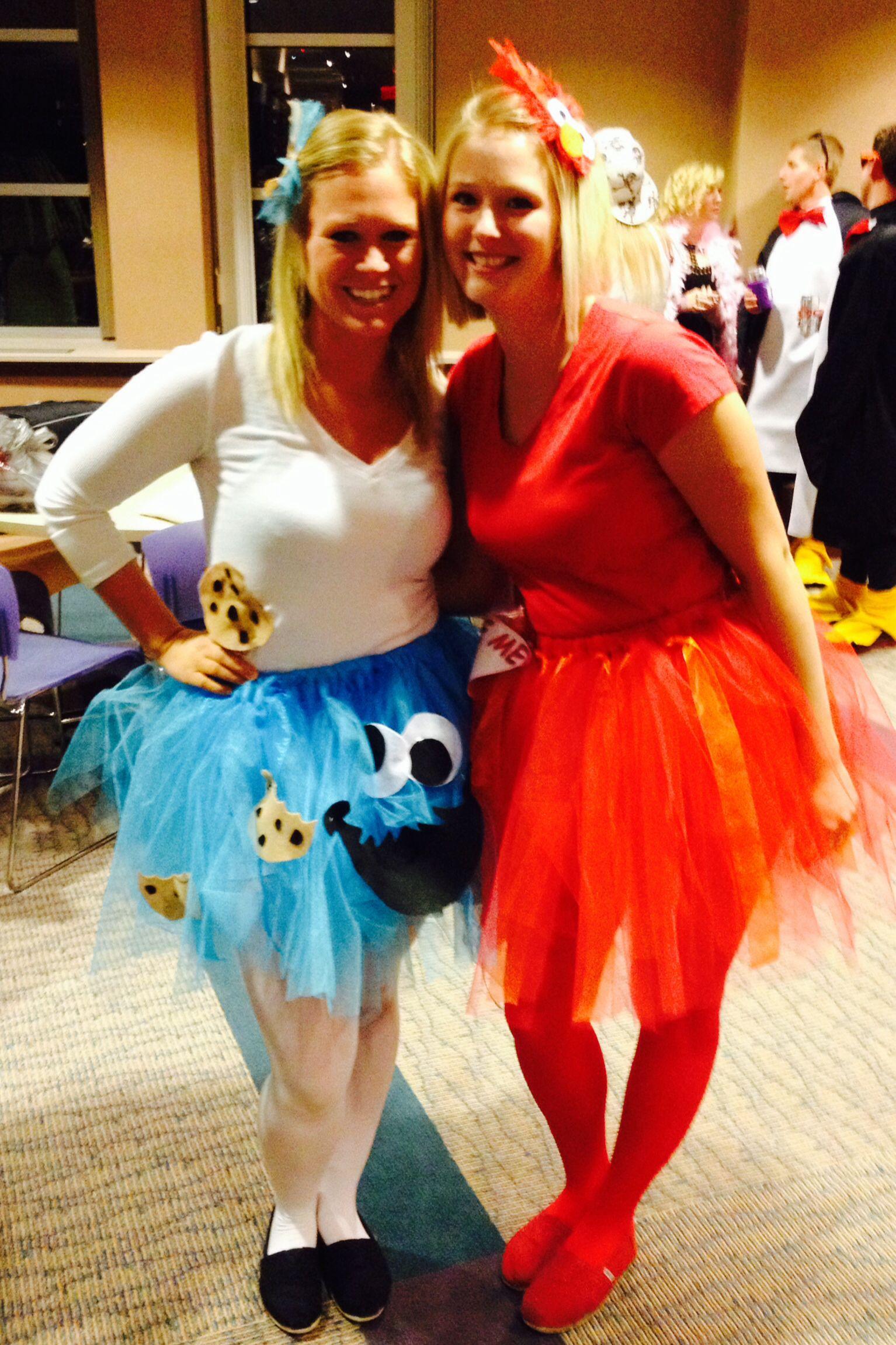 Adult Women\u0027s Cookie Monster and Tickle Me Elmo tutu