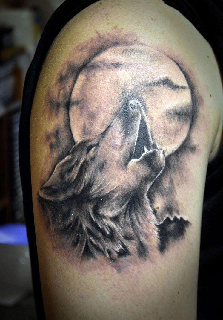 Full Moon Tattoo Designs For Men Full Moon Tattoo Designs Cool