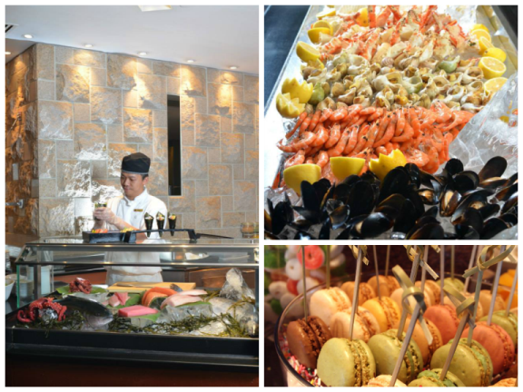 What's your favourite #buffet station at the Café on the 1st? #MOfoodies