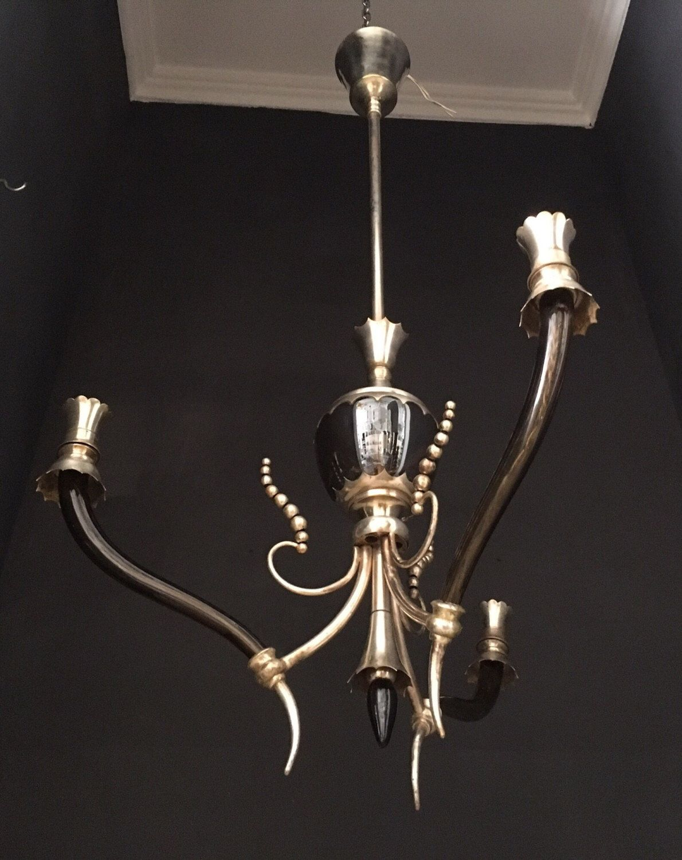 A Personal Favourite From My Etsy Https Www Art Deco Chandeliervintage Chandelierchandelier Lightingchandeliersitalian