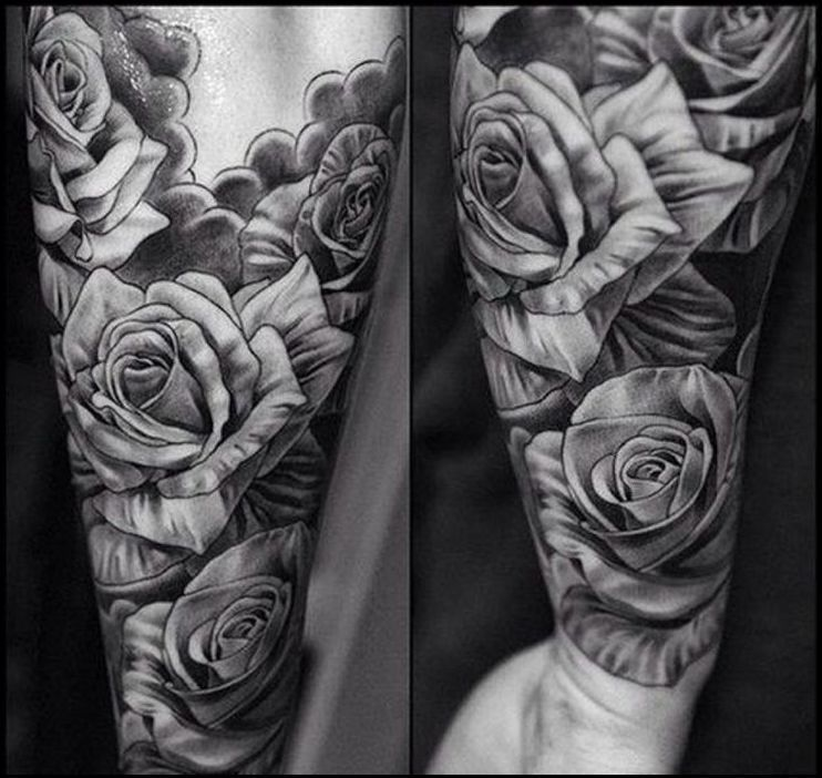 These 3 Top Best Black And Grey Tattoo In Los Angeles Is On Famoustattoo Themes Idea Tattoo Themes I Rose Tattoo Sleeve Rose Tattoos For Men Tattoos For Guys