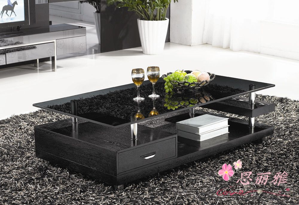 Wooden Coffee Table Glass Tea Table Wooden End Table Living Room Coffee Table In Glass Tabl In 2020 Living Room Coffee Table Glass Table Living Room Living Room Table
