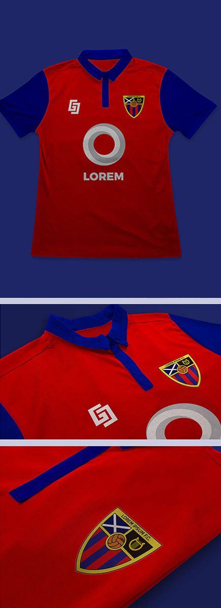 Download Free Football Soccer Jersey And Logo Mockup Psd 2019 Logo Mockup Clothing Mockup Shirt Mockup