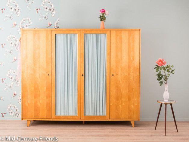 60er Kleiderschrank, Kommode, 50er, Vintage | Mid century and Interiors