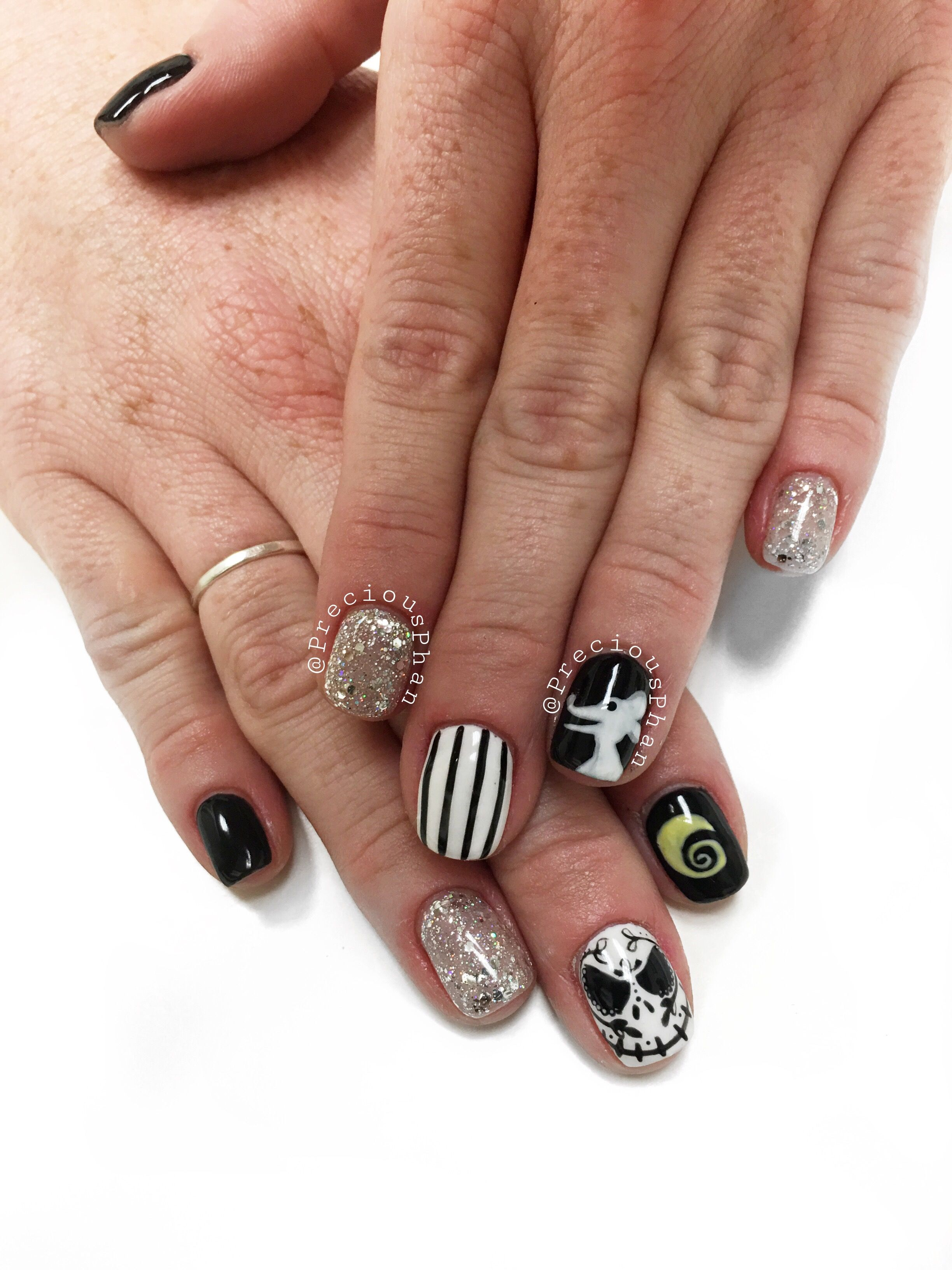 Jack skellington. The nightmare before Christmas nails ...