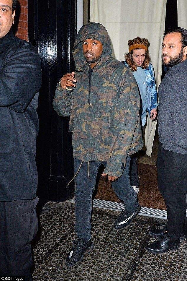 Kanye West Keeps A Low Profile In Camouflage In Soho Kanye West Kanye Kanye West Songs