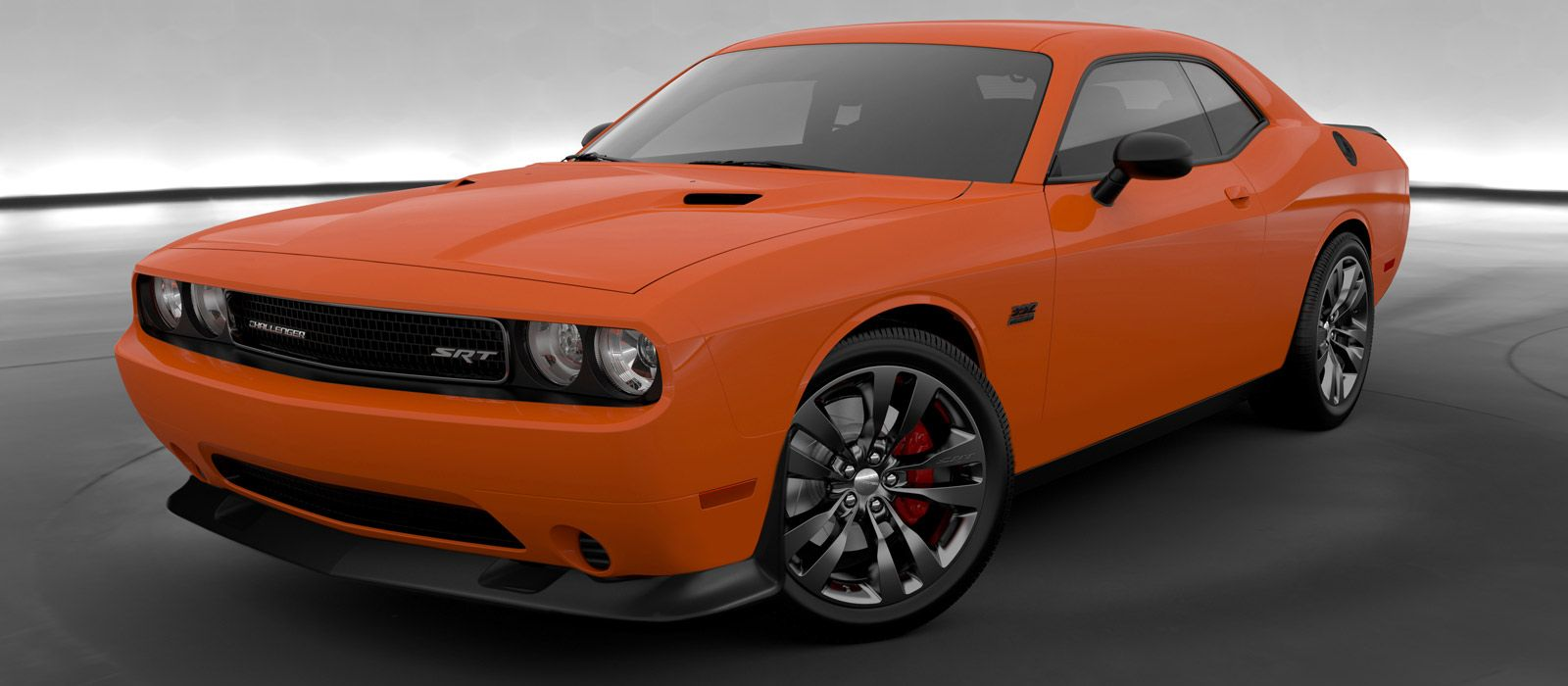 Challenger srt8 header orange
