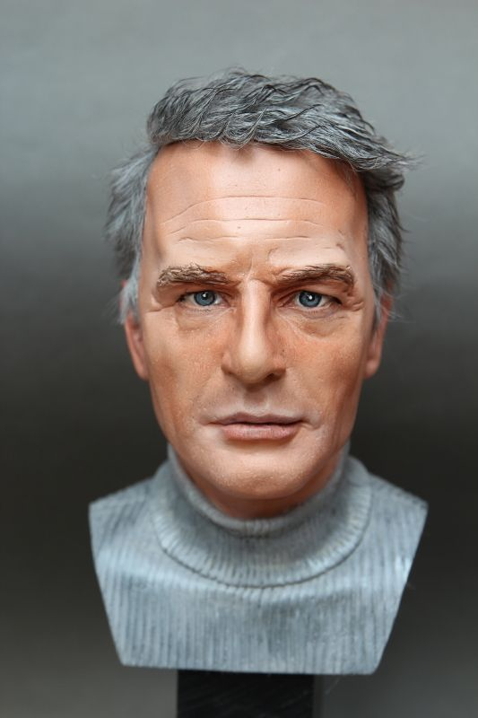sculpture bust Paul Newman   figurenmacher.de