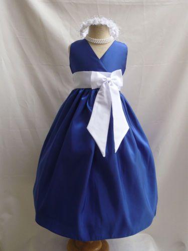 VN-ROYAL-BLUE-WHITE-WEDDING-EASTER-FLOWER-GIRL-DRESS-1-2-4-6-8-10-12-14