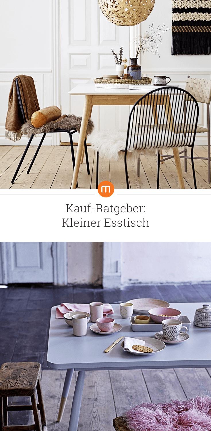 Kleiner Esstisch: Kauf-Ratgeber | Ob Wohnküche oder einfach nur eine ...