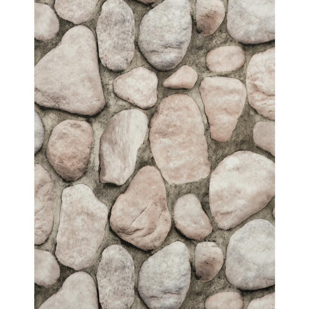 York Wallcoverings River Rock Wallpaper Rn1065 The Home Depot Stone Wallpaper River Rock Rustic Wallpaper