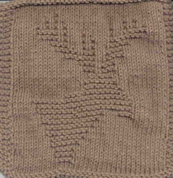 Free Knitting Pattern - Dishcloths & Washcloths : Knitted Moose ...