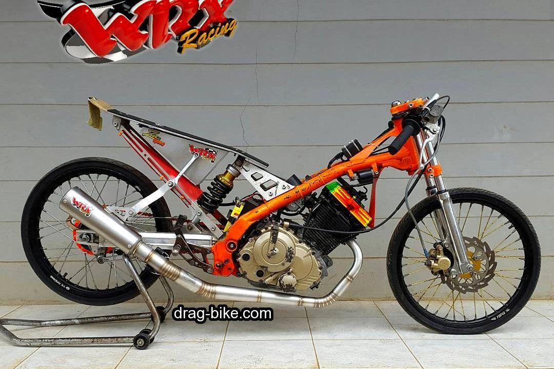 Gambar Motor Drag Race Satria Fu Papan Mantap Racing Drag Bike