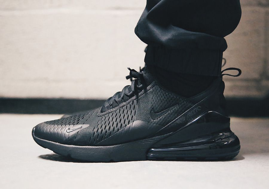 reputable site 62f24 11a2d Nike Air Max 270 Triple Black AH8050-005 | all black ...