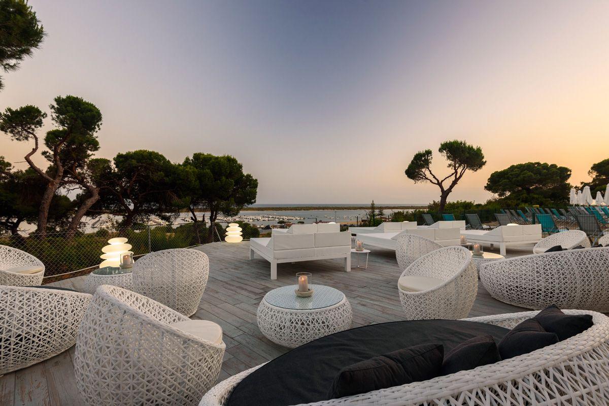 Blue Bar Sentido Garden Playanatural Hotel Spa Hoteles Con Spa Hotel Romper