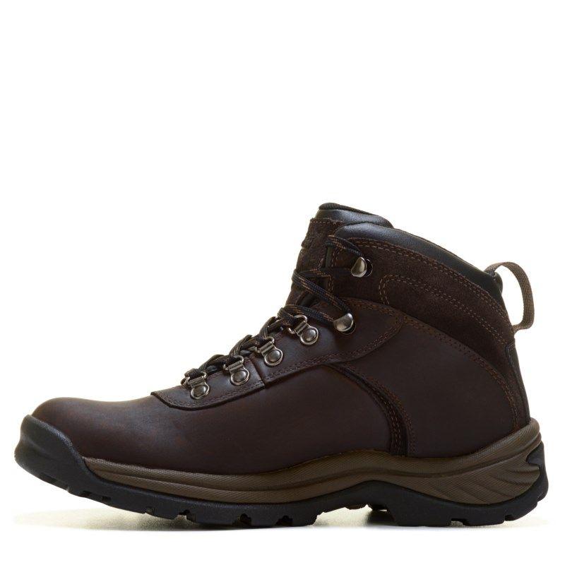 30014f44bf Timberland Men s Flume Waterproof Medium Wide Hiking Boots (Dark Brown) -  11.5 M
