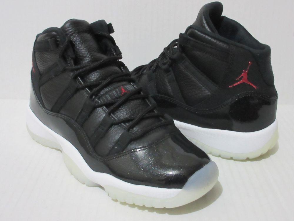 buy online dd0ec d9c2f Nike Air Jordan 11 Retro BG Youth Blk  Gym Red  White  Anthracite 378038  002  Nike  Athletic