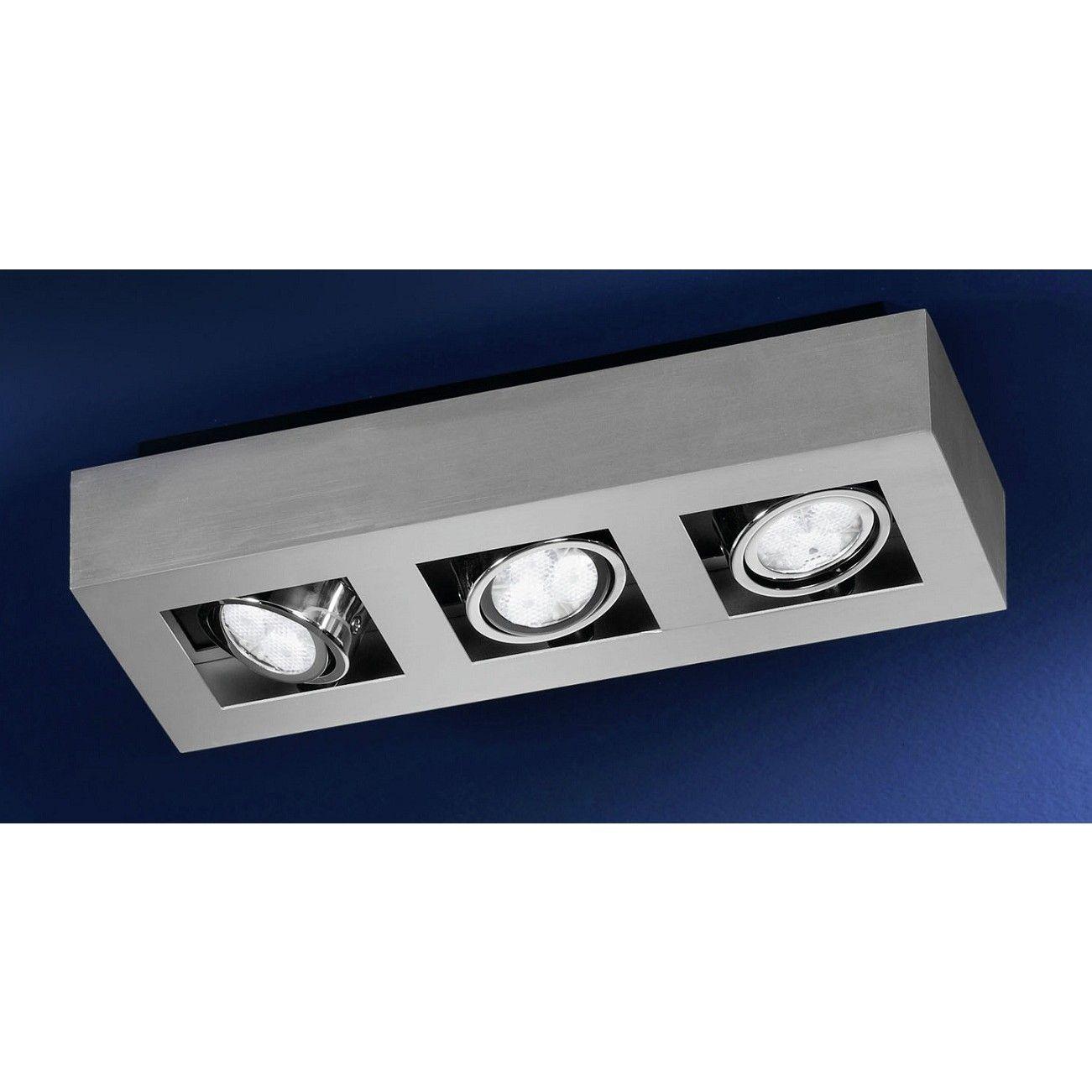 spot Recht opbouw 3-lichts - Lightning | Pinterest - LED ...