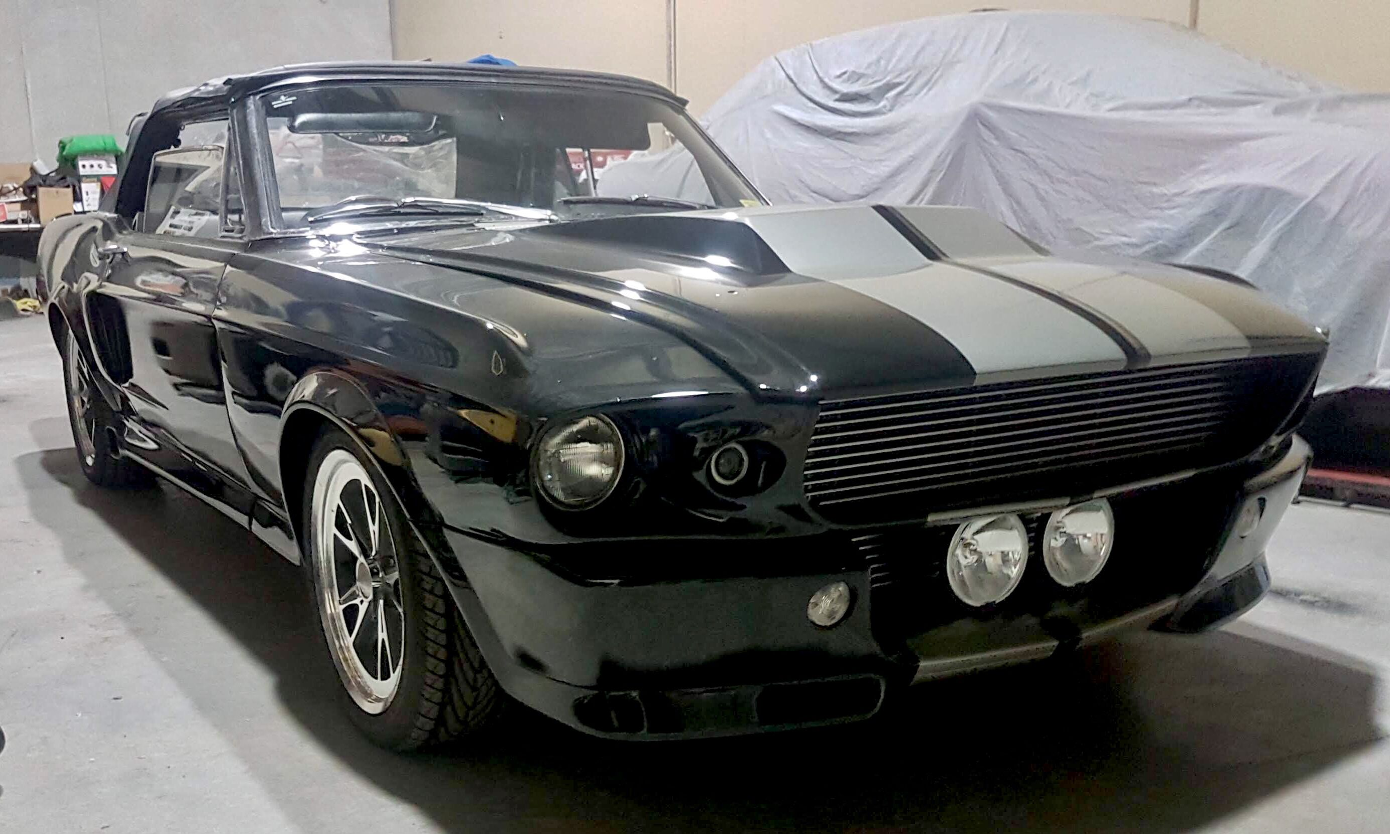 1967 Mustang Eleanor Black
