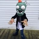 Step 0: Plants Vs Zombies Costume