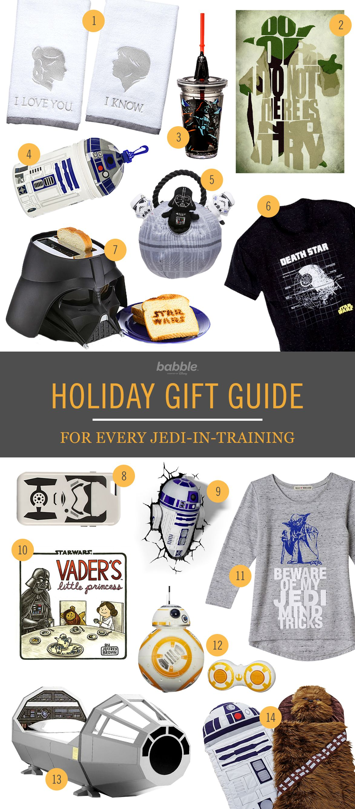 Star Themed Gifts 9 39star Wars 39 Gifts For Every Jedi In Training Star Wars