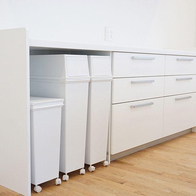 カップボード ゴミ箱 パナソニックキッチン キッチン 天馬のインテリア