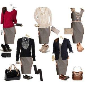 10 Piece Fall Wardrobe: Dress 5 Ways