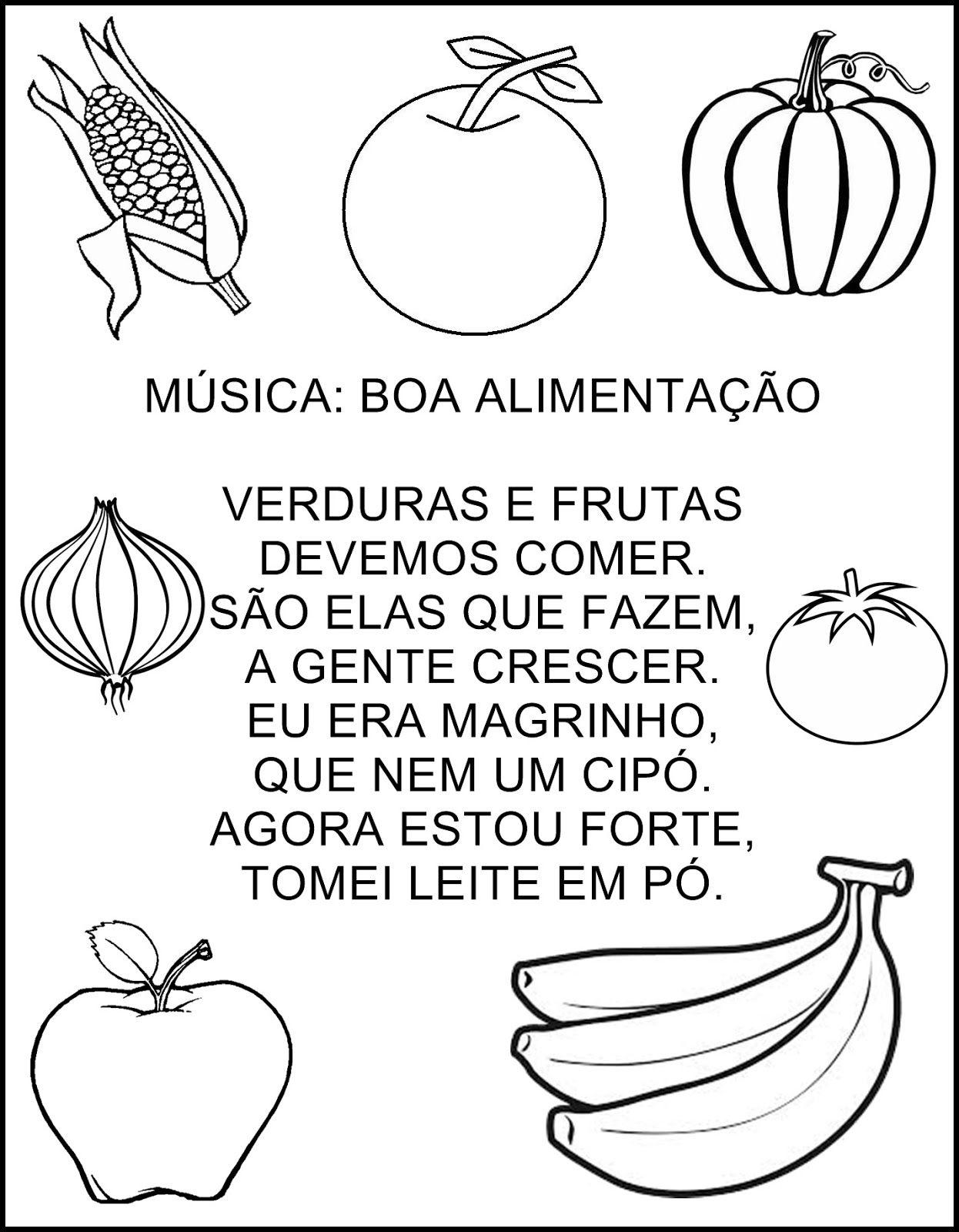 Favoritos Cesta da Dona Maricota | Alimentacao, Musicas e Atividades TQ45