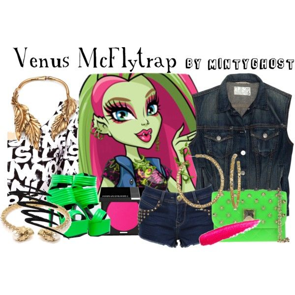 """Venus McFlytrap"" by mintyghost on Polyvore"
