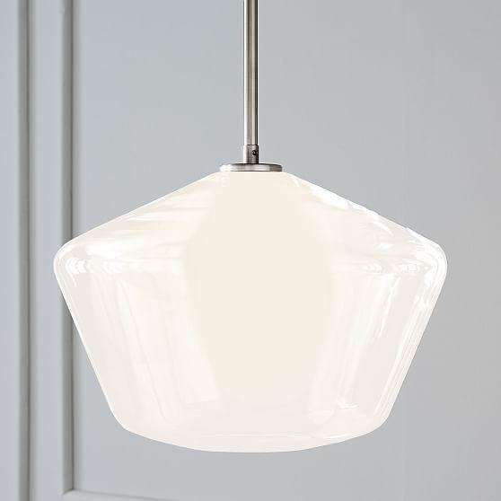 Found it at AllModern Milk Glass 6 Light Chandelier I