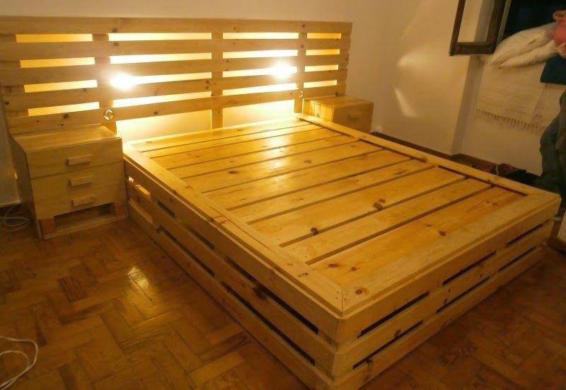 ☆ Cama de Pallet 7   DIY furniture   Pinterest   Camas, Palets y ...