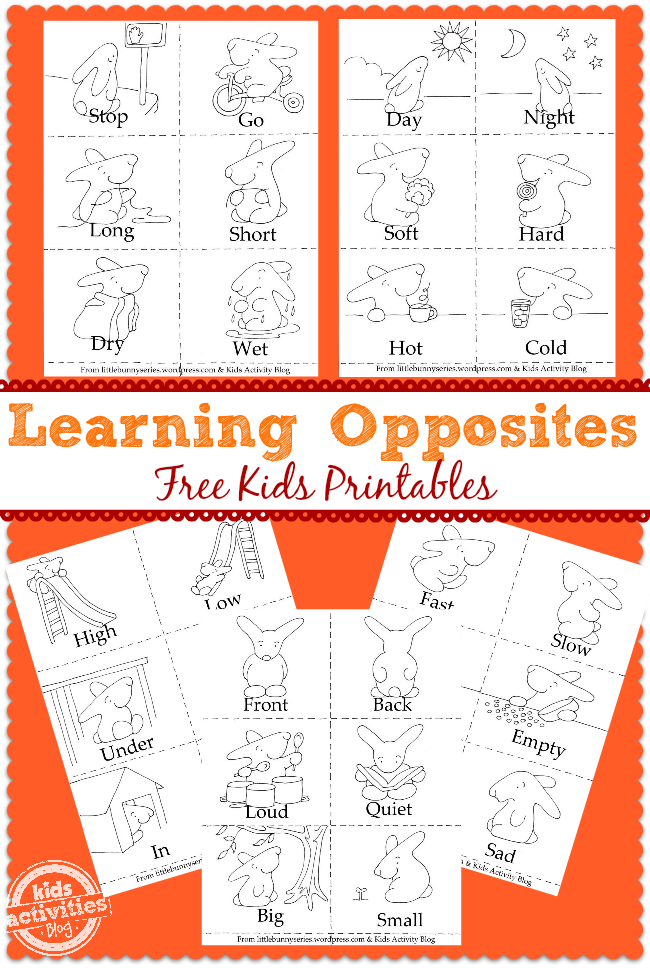 Ways to Teach Opposites - Fun Learning Materials for Kids!