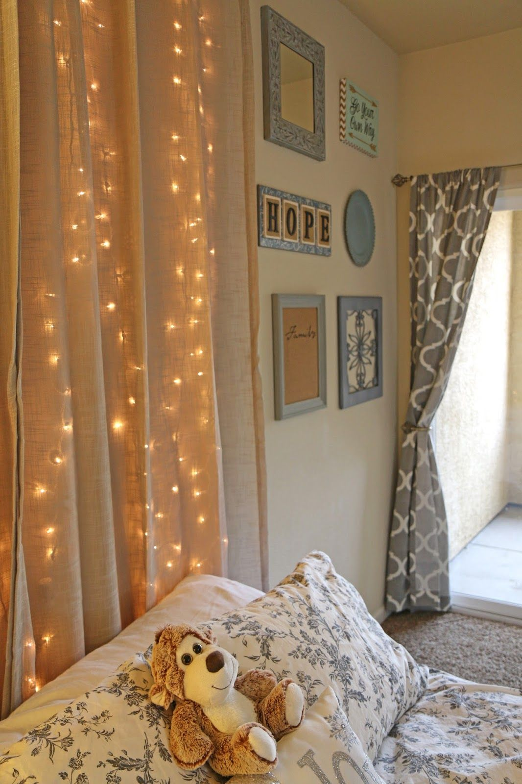 Window headboard ideas  diy light up headboard ideas for string light home decor  home
