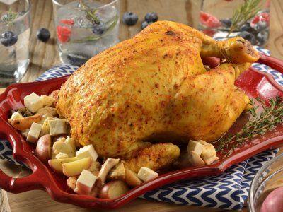 Pollo Rostizado con Salsa de Chipotle Receta (con