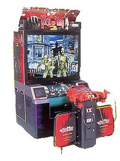 House Of The Dead 2 Arcade Arcade Games Arcade Cabinet