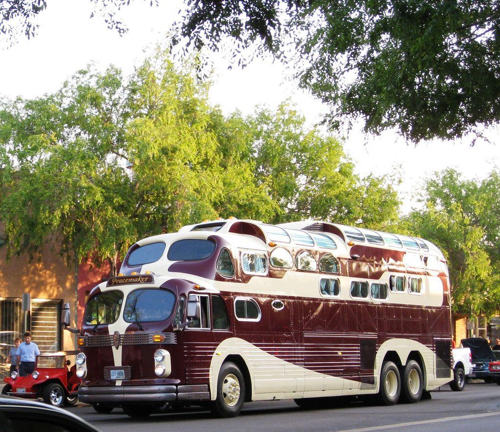 all sizes | general american aerocoach custom three level bus - pre 1952 |  flickr - photo sharing!