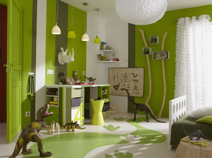 Chambre Dinosaure @ Leroy Merlin | Chambre bébé in 2019 | Boys ...